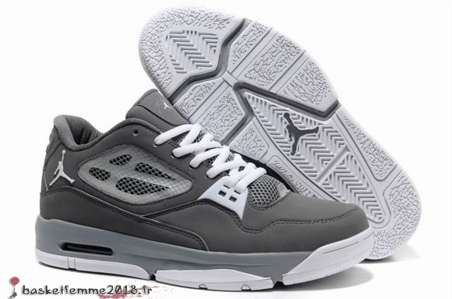 Air Jordan Flight Homme Gris Chaussure de Basket