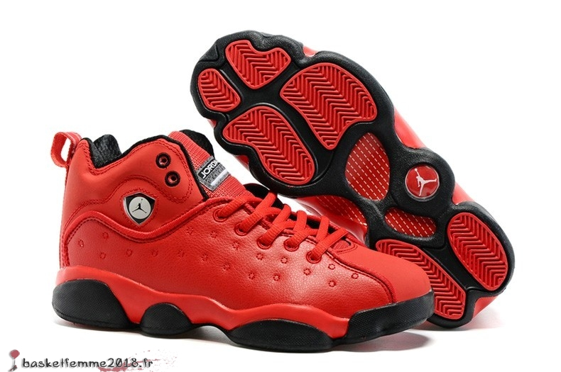 Air Jordan Jumpman Team 2 GS Homme Rouge Chaussure de Basket