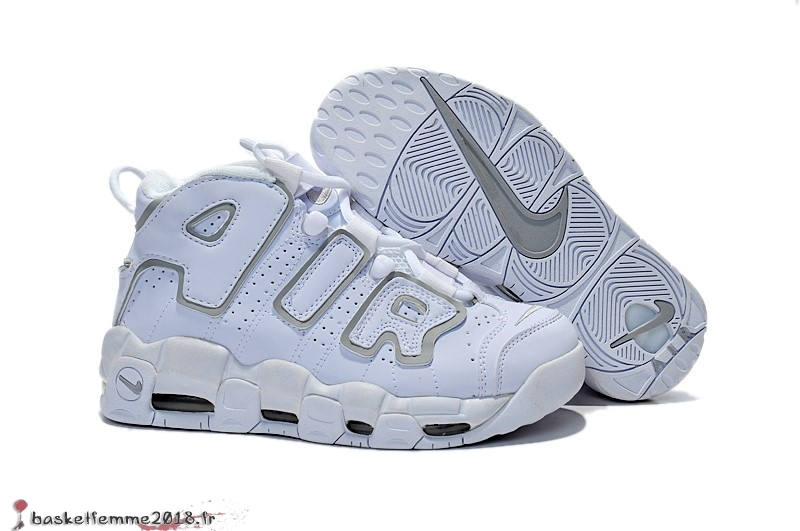 Nike Air More Uptempo Femme Blanc Chaussure de Basket