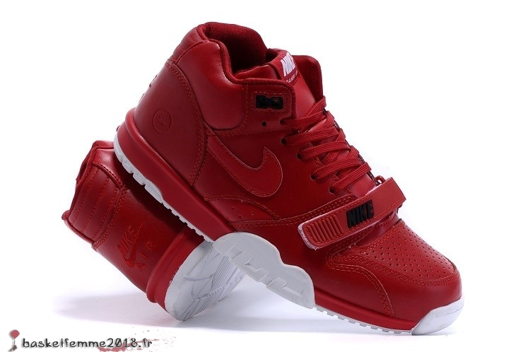 Nike Air Trainer 1 Mid Homme Rouge Chaussure de Basket
