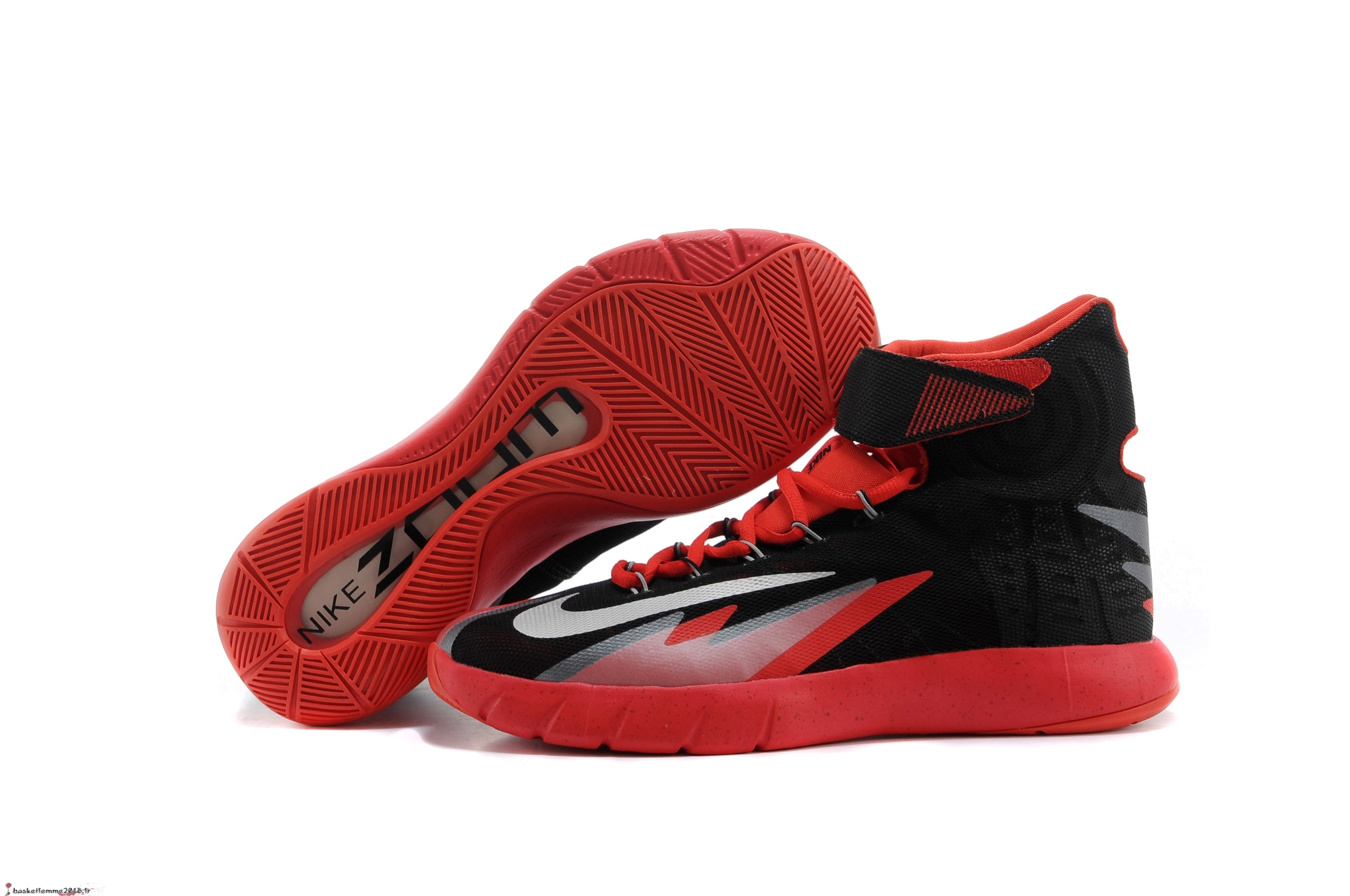 Nike Zoom Hyperrev Kyrie Irving Homme Noir Rouge Chaussure de Basket