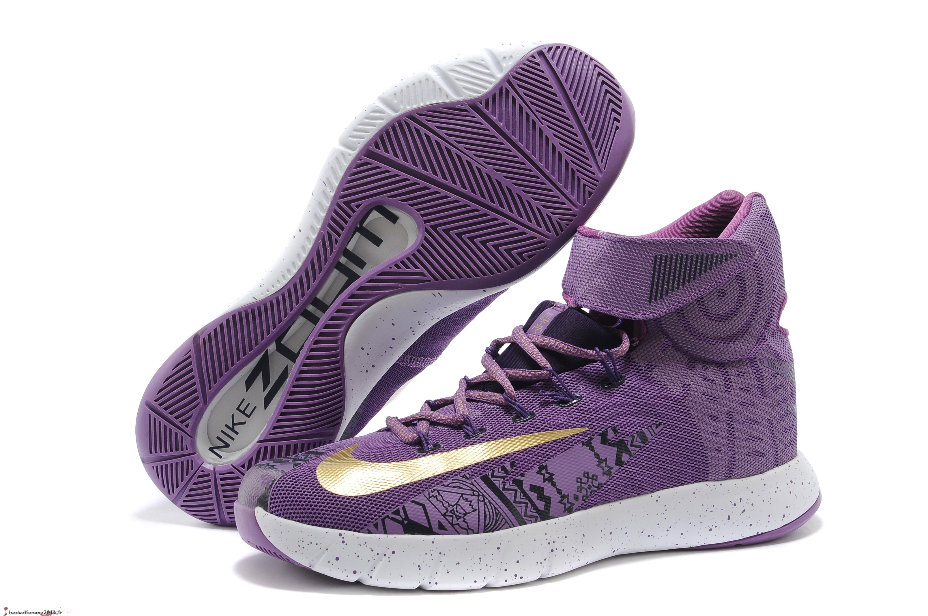 Nike Zoom Hyperrev Kyrie Irving Homme Pourpre Chaussure de Basket